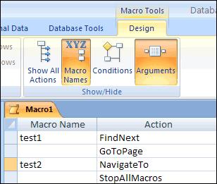 macro access